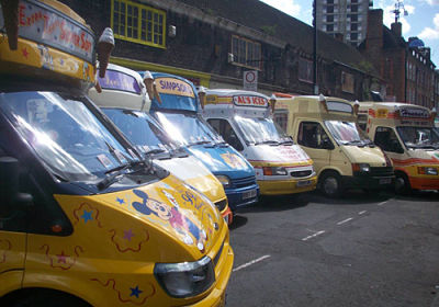 Ice cream van orchestra london