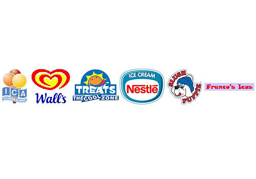 Branded products, walls, treats, nestle