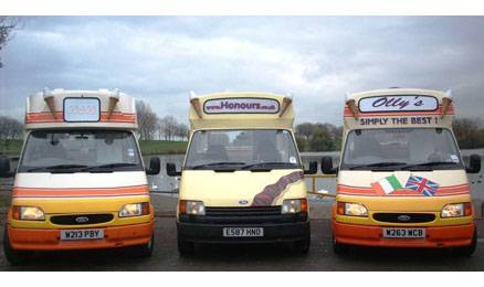 ice cream van hire kent