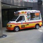 Ice cream vans at corporate event in London 2012