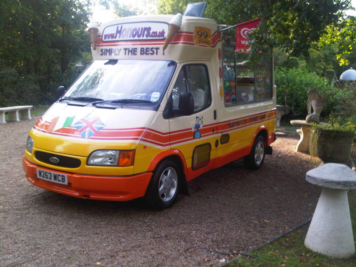 Ice cream vans for hire in Kent