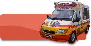 Honours Ice Cream Van rentals London & Kent