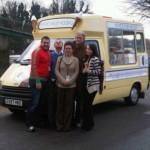 Hire an ice cream van for corporate branding