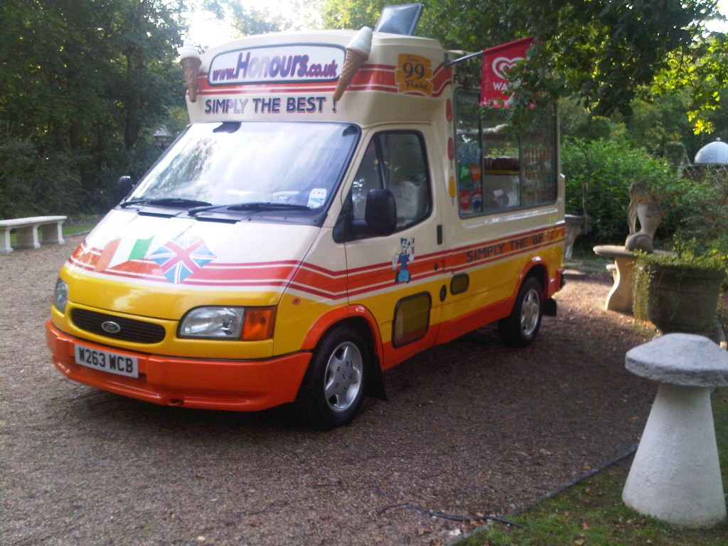 ice cream vans for hire