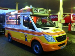 Honours ice cream van hire company